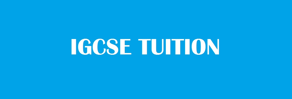 IGCSE Private home tutors